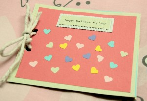 Lovely Handmade Birthday Card!