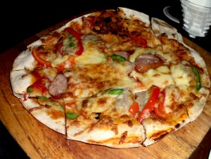 Timbre's Famous Thin Crust Pizza!